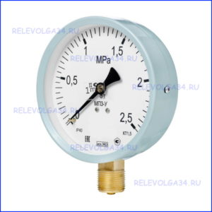 Манометр МПЗ-УУ2 (0-250 кг/см2)