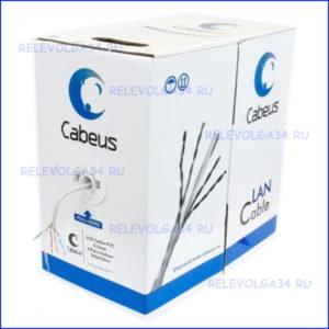 Витая пара UTP (U/UTP) Cabeus UTP-4P-Cat.5e-SOLID-GY