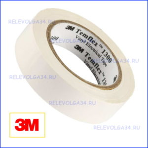Изолента 3М 7000062613 Temflex 1300, белая