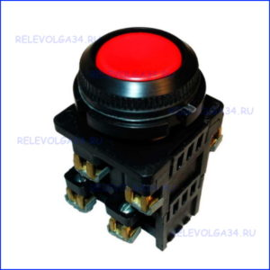 Кнопка КЕ-012 исп. 3 красный