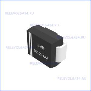 Диод Шоттки 2А 60В (SMB/DO-214AA) SS26T3G Semiconducto