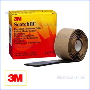 Мастика изоляционная Scotchfil 38мм х 1,5 м