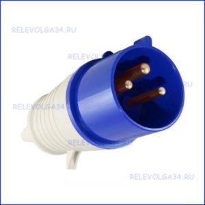 Вилка переносная ССИ-023 2Р+PE 32А 220В/50Гц IP-44