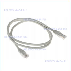 Патч-корд Neomax NM13001-005GR UTP 0.5м Кат 5Е серый
