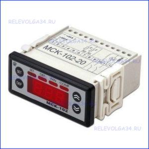 Холодильный контроллер МСК-102-20 с 2 NTC