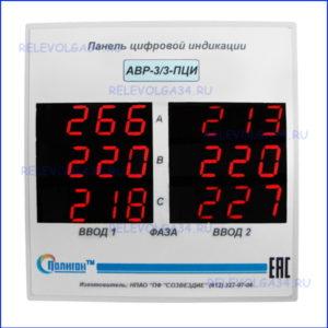 Панель индикации АВР-3-3 ПЦИ